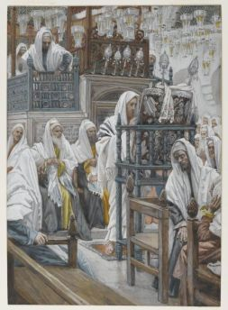 512px-Brooklyn_Museum_-_Jesus_Unrolls_the_Book_in_the_Synagogue_(Jésus_dans_la_synagogue_déroule_le_livre)_-_James_Tissot_-_overall