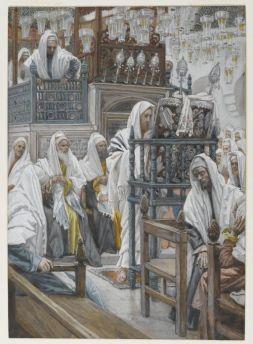 512px-Brooklyn_Museum_-_Jesus_Unrolls_the_Book_in_the_Synagogue_(Jésus_dans_la_synagogue_déroule_le_livre)_-_James_Tissot_-_overall